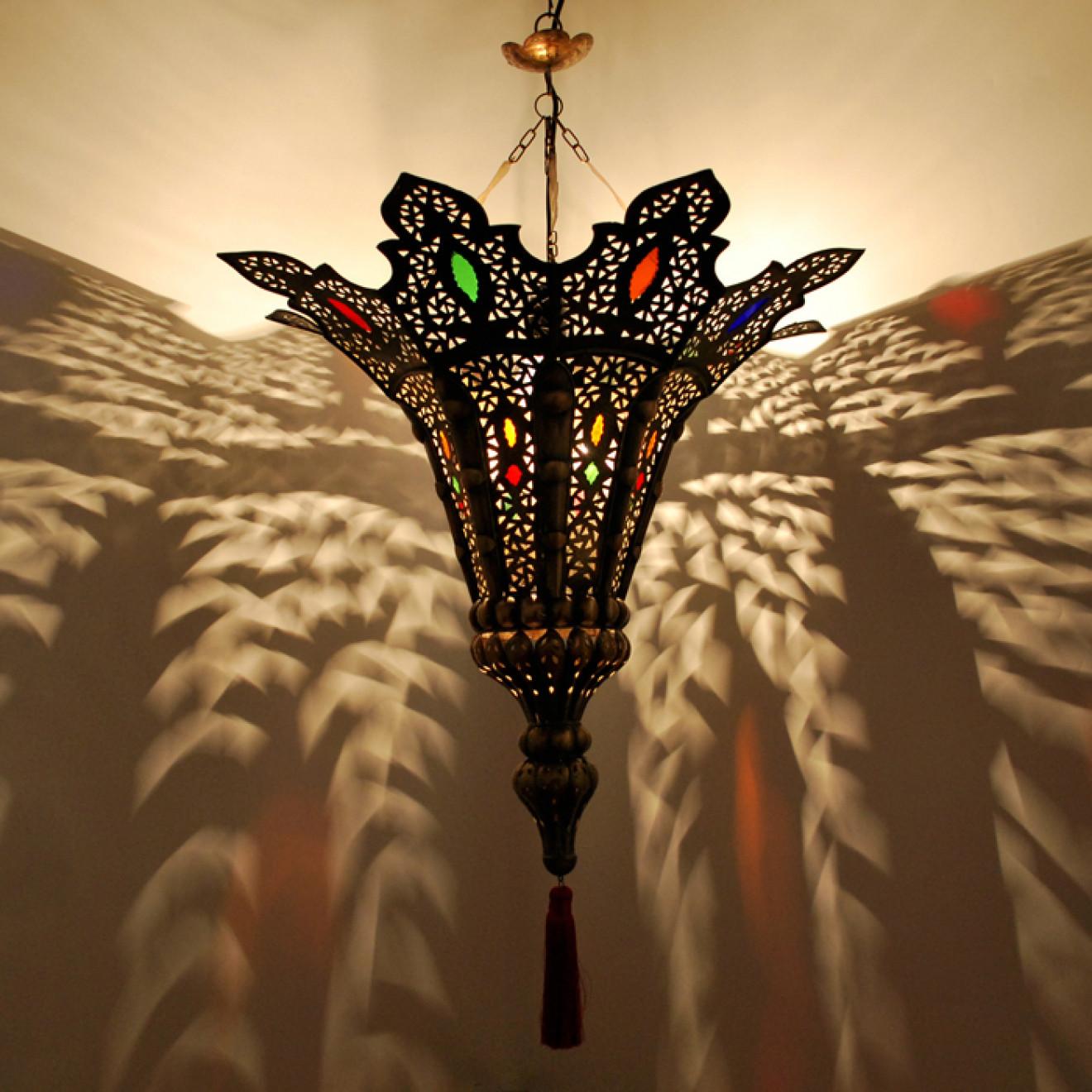 Marokkanische Leuchte Najma Aus Messing