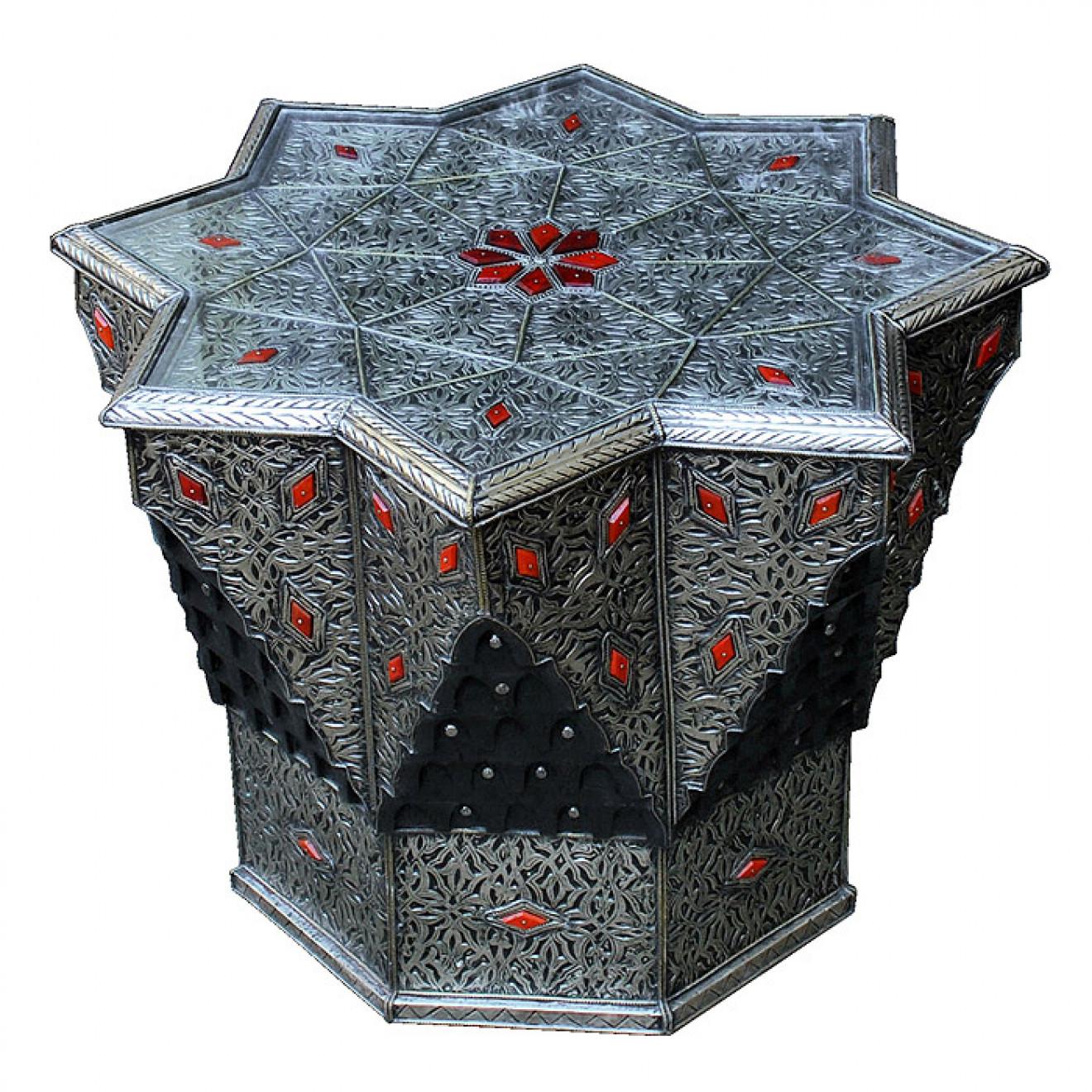 orientalischer tisch stern. Black Bedroom Furniture Sets. Home Design Ideas