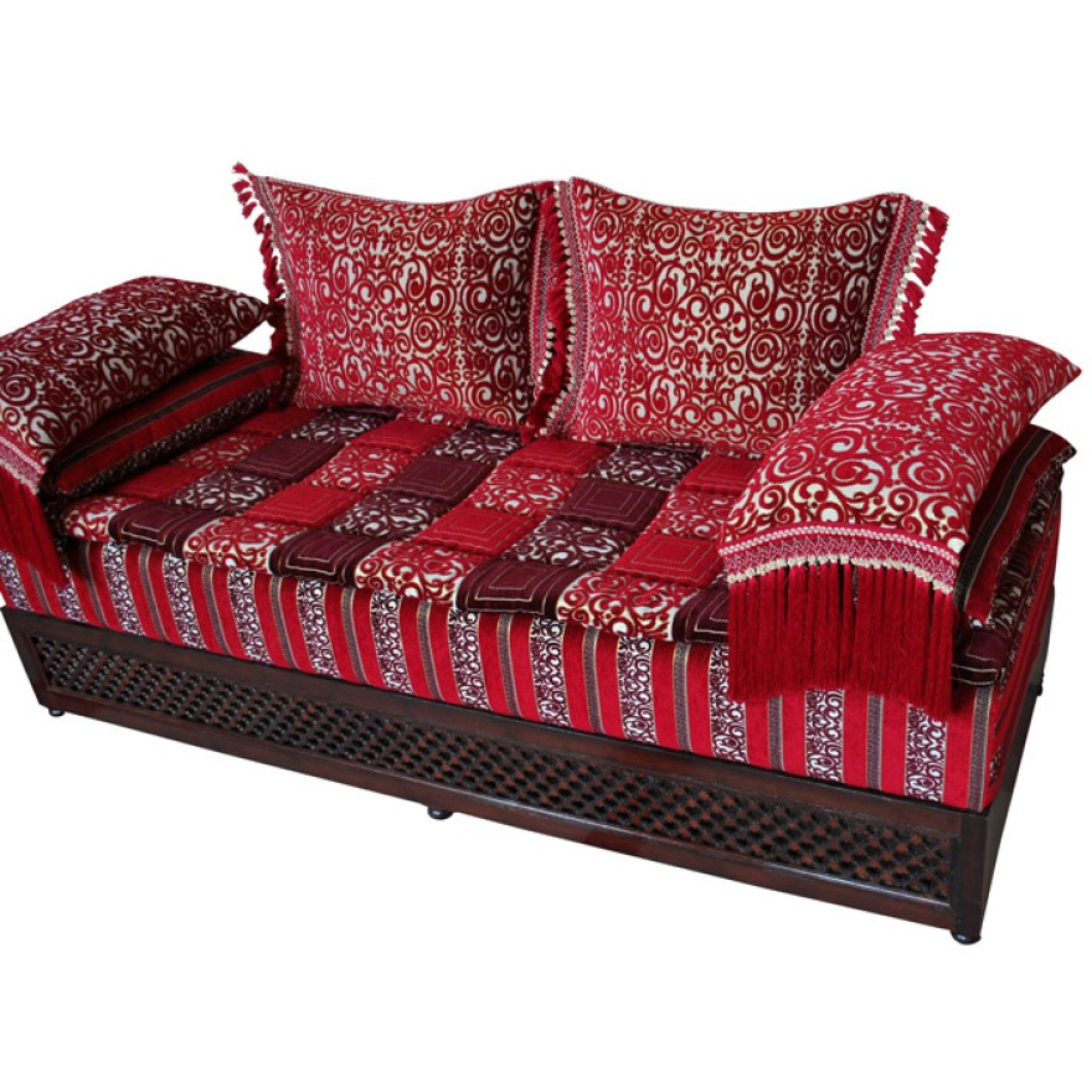 orientalische couch afrah. Black Bedroom Furniture Sets. Home Design Ideas