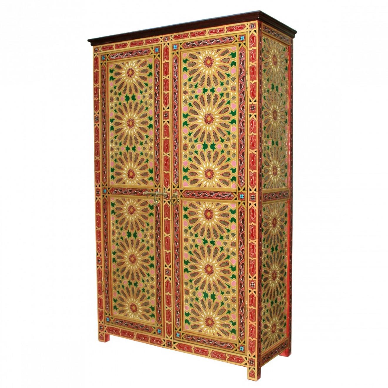 Marokkanischer Holzschrank \