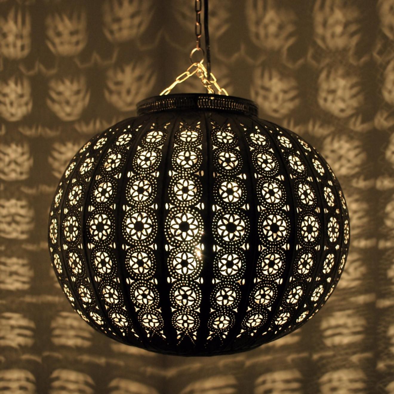 orientalische deckenleuchte kora kazdir m silber. Black Bedroom Furniture Sets. Home Design Ideas