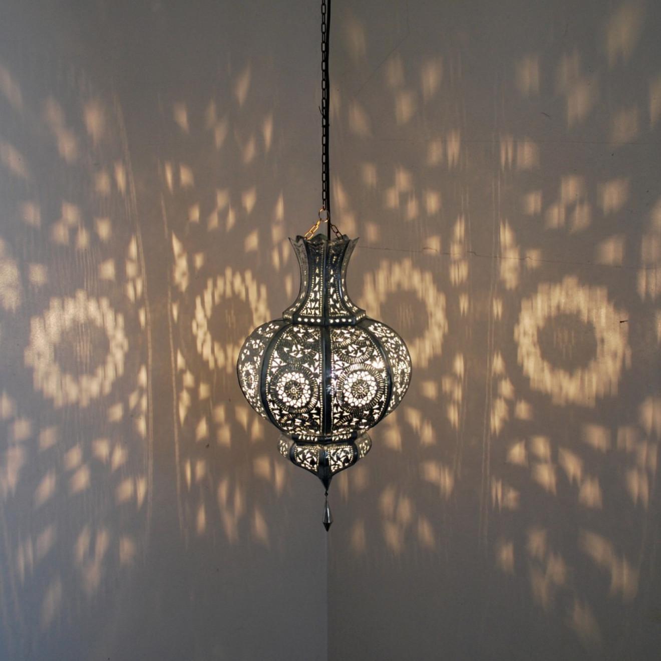 Orientalische lampen yamina silber for Orientalische lampen