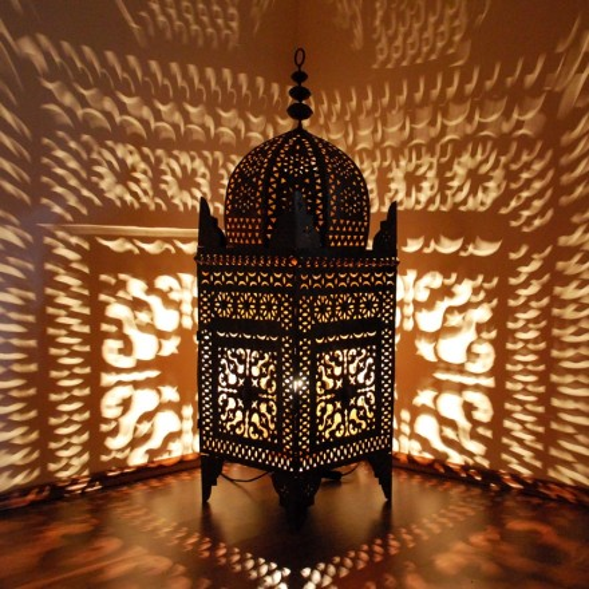 Marokko Laterne Aus Metall Quot Jama Quot H120