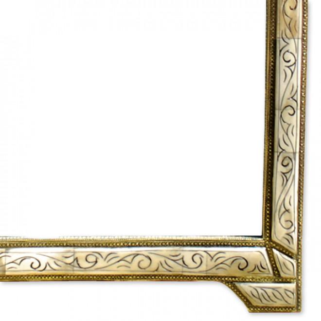 orientalische spiegeln loudaya l h 85 cm. Black Bedroom Furniture Sets. Home Design Ideas