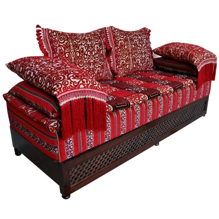 orientalische couch afrah. Black Bedroom Furniture Sets. Home Design Ideas