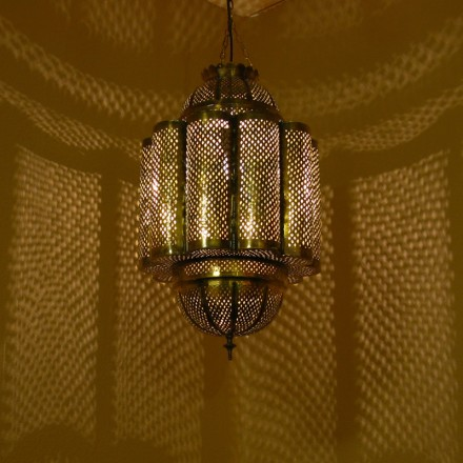 Orientalische messinglampe amira for Orientalische messinglampe