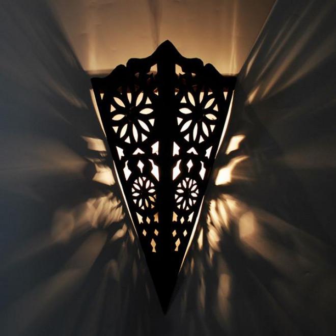 Marokkanische wandlampe manara3 h45cm for Marokkanische wandlampe