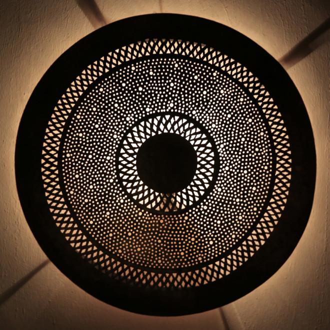Orientalische marokkanische wandlampe dora schabka s aus for Marokkanische wandlampe