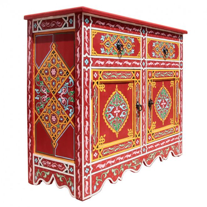 Orientalische Arabische Marokkanische Kommode Schrank Majorelle