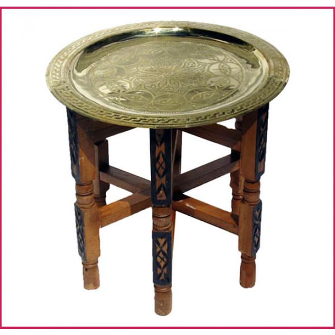 Marokko beistelltisch aus messing 40cm for Messing beistelltisch katalog
