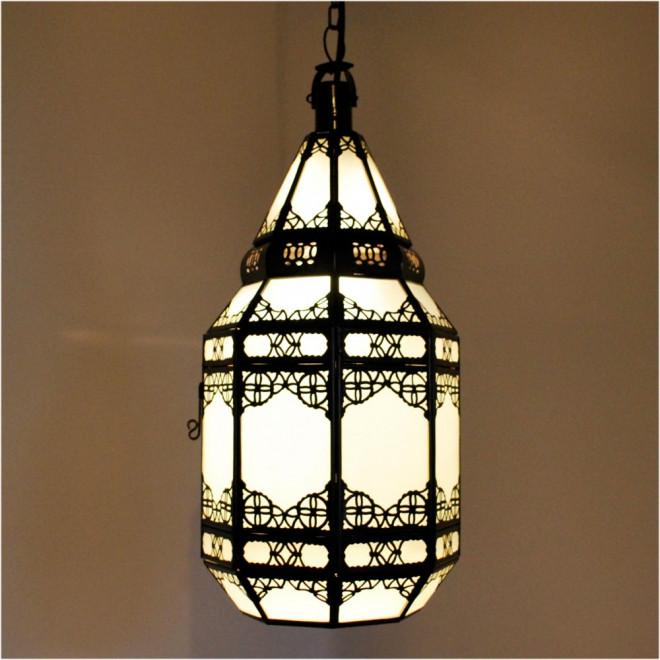glaslaterne aus marokko. Black Bedroom Furniture Sets. Home Design Ideas