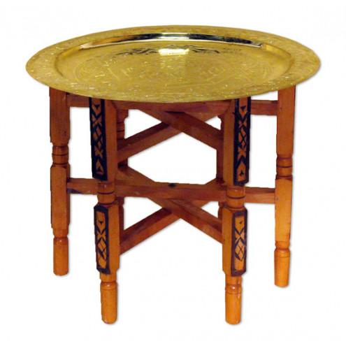Teetisch aus messing 90cm for Messing beistelltisch katalog