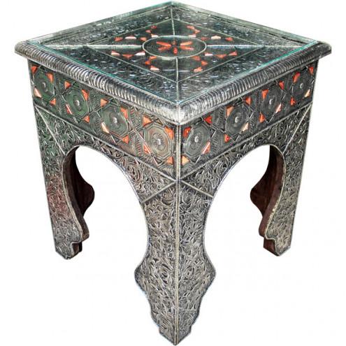 Orientalische Beistelltische Aus Holz L Artisande