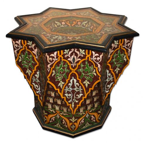 orientalische beistelltische aus holz. Black Bedroom Furniture Sets. Home Design Ideas