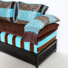 Orientalisches Sofa DOSBAH in Moscharabi-Look