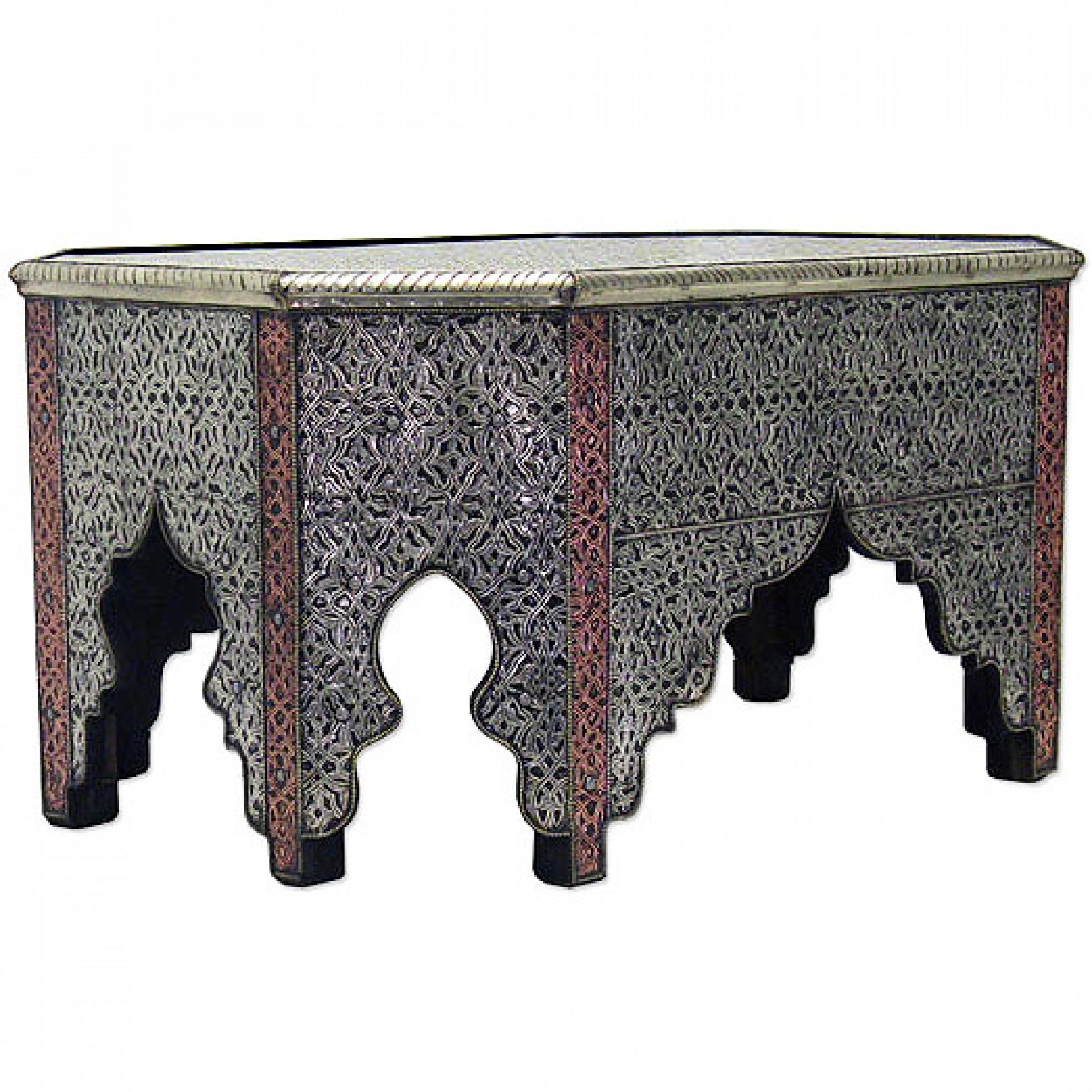 orientalischer tisch raha. Black Bedroom Furniture Sets. Home Design Ideas