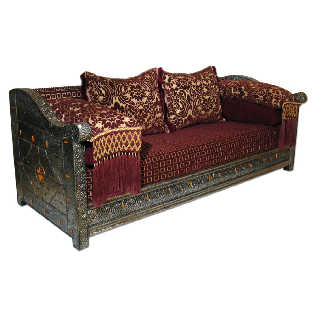 orientalische couch manal b200xt83cm. Black Bedroom Furniture Sets. Home Design Ideas