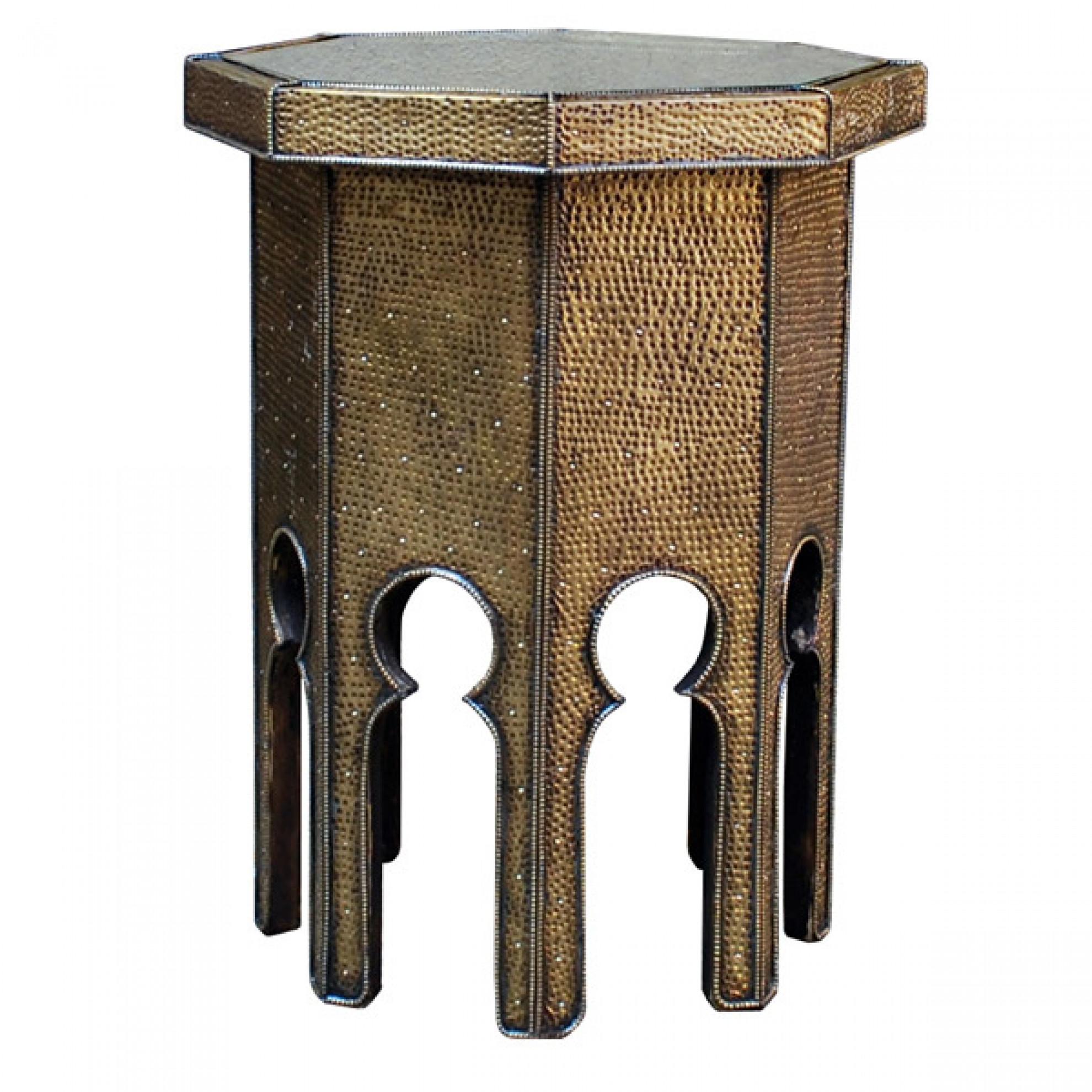 orientalischer teetisch dahbi aus messing. Black Bedroom Furniture Sets. Home Design Ideas