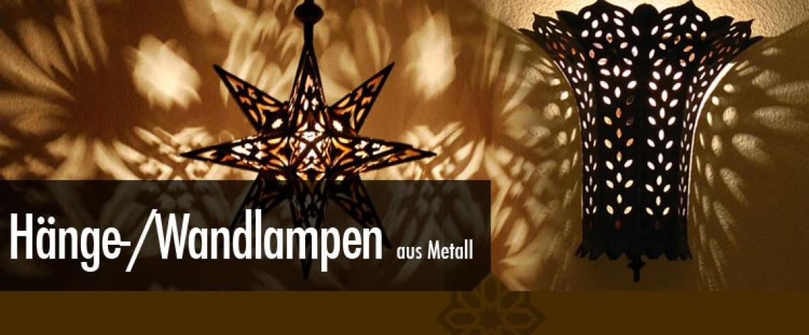 Orientalische lampen aus eisen l for Orientalische wandlampen metall