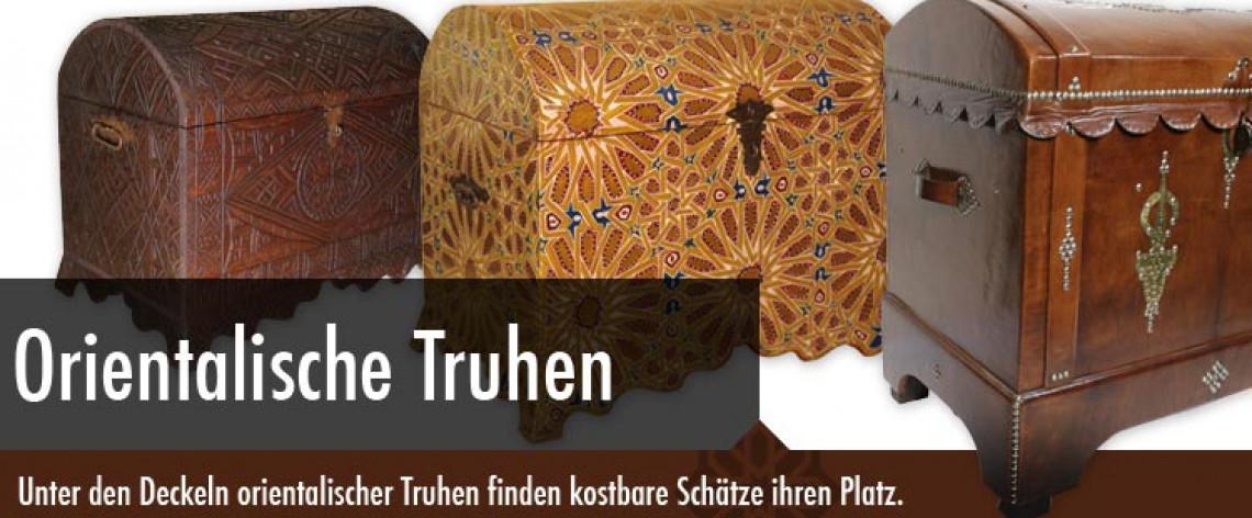 orientalische holztruhen aus marokko. Black Bedroom Furniture Sets. Home Design Ideas